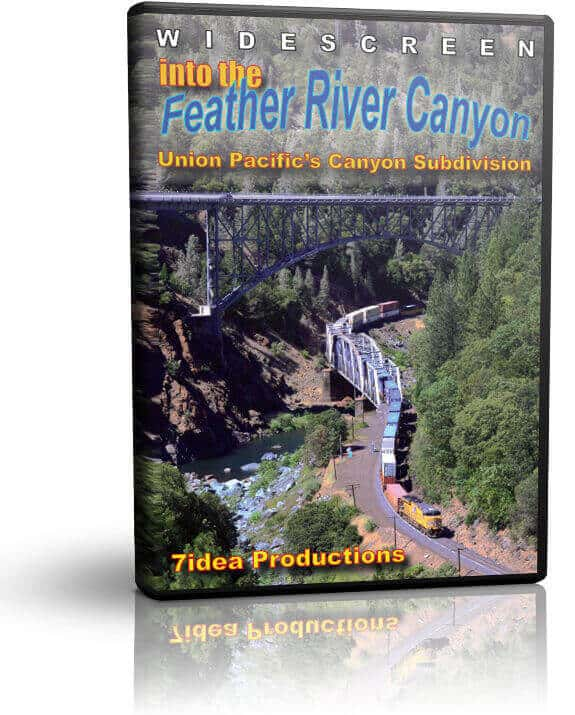 Into the Feather River Canyon - The Union Pacific Canyon Sub