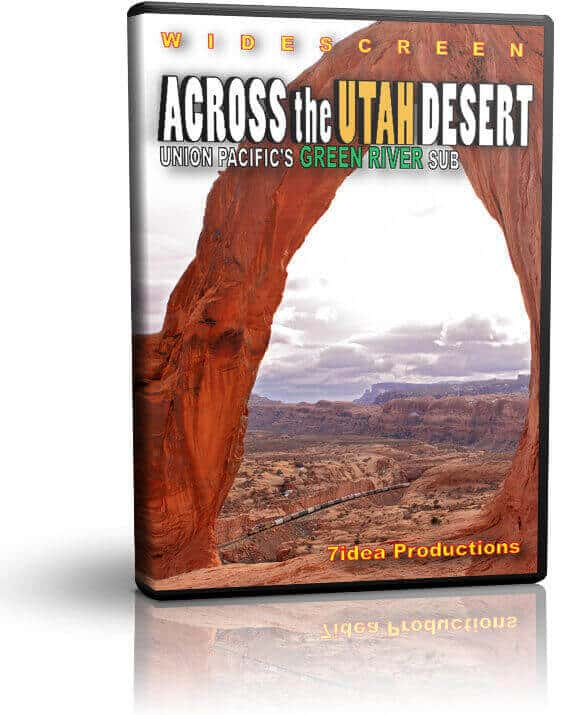Across the Utah Desert - The Union Pacific Green River Sub