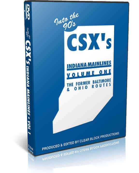 CSX Indiana Mainlines Part 1 - B&O Lines