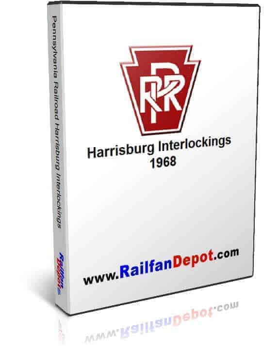 Pennsylvania Railroad Harrisburg Interlockings
