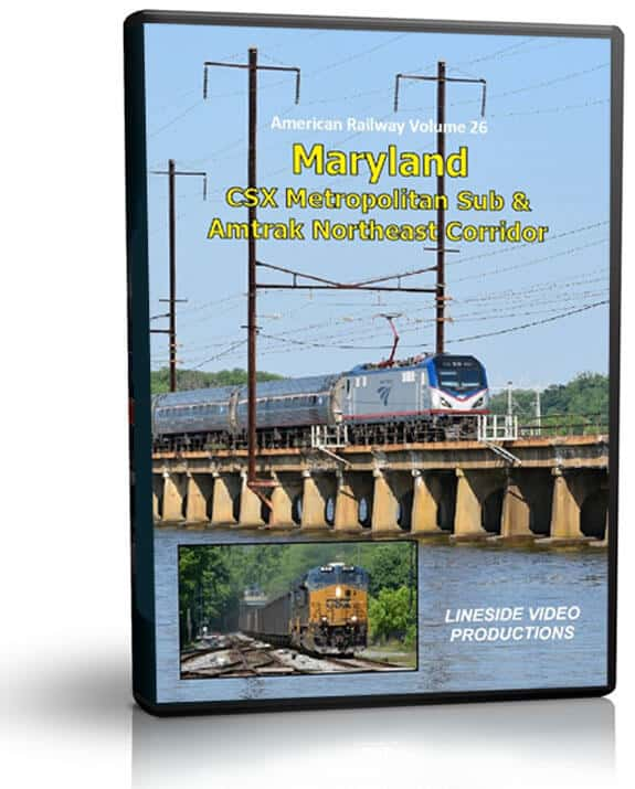 Maryland CSX Metropolitan Sub & Amtrak Northeast Corridor